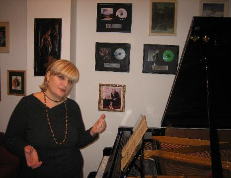 Marina Porchkhidze-owner, artistic director and piano teacher